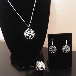 NEW! Tree of Life Jewelry Set